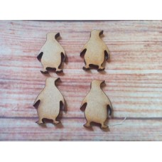 Penguin Laser Cut pack of 10